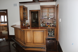 Kitchen cabinets carl 39 s custom carpentry bars - Built in bars for small spaces collection ...